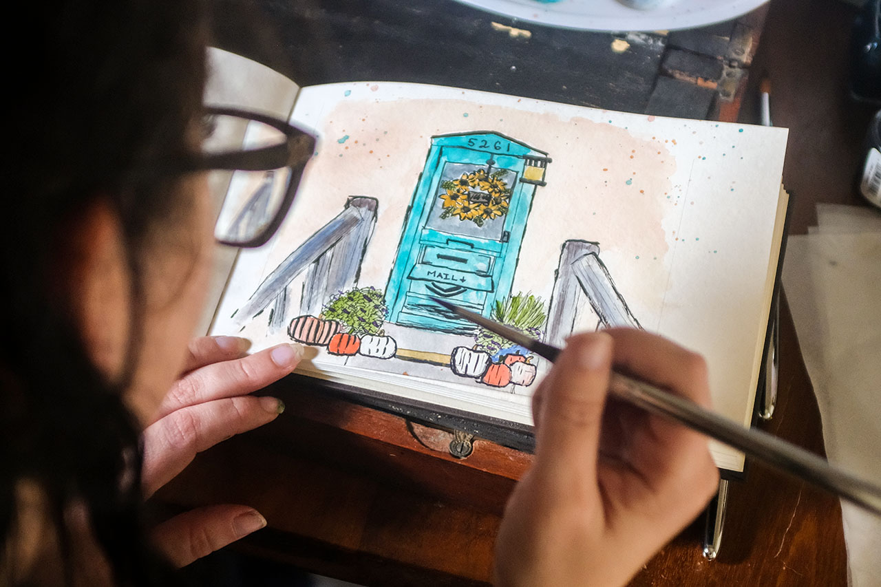 Skillshare Watercolor Class: Amy Stewart